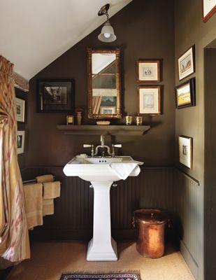 Love The Warm And Colour Of This Space Brown Bathroom Beautiful Bathrooms Diy Bathroom Decor