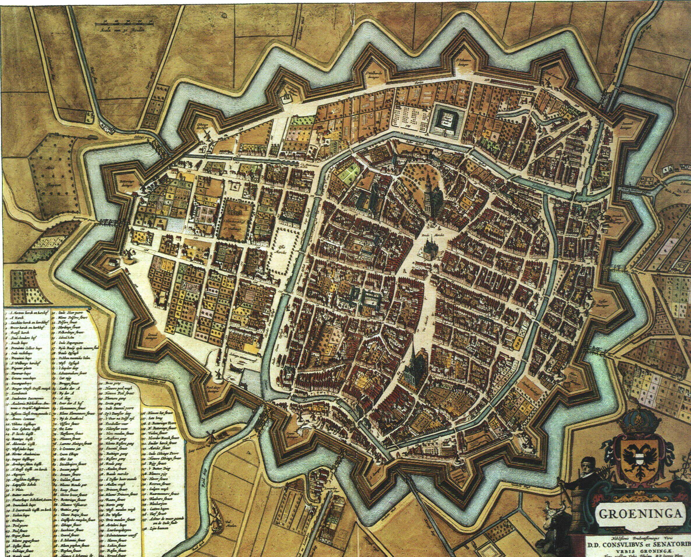 Blaeu Atlas Groningen ca 1662 Netherlands More