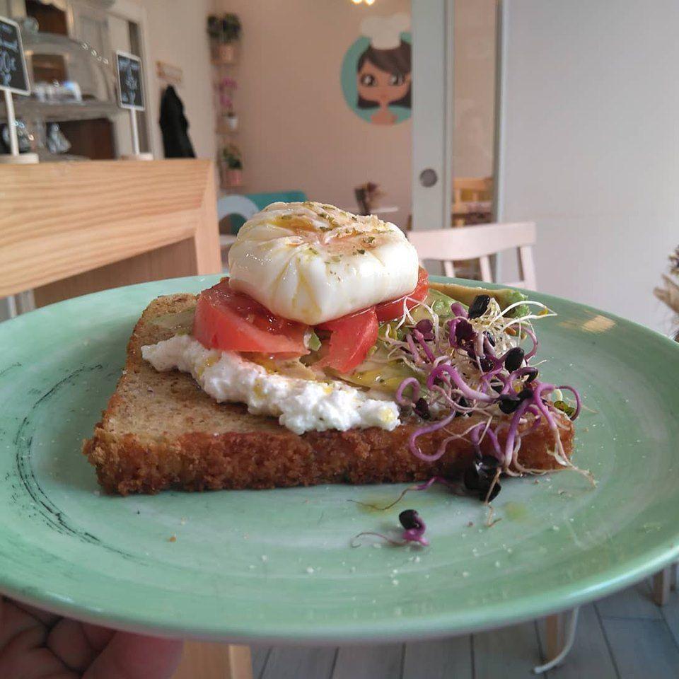 La Cocina de Keyla | Tostadas con aguacate, Meriendas ...