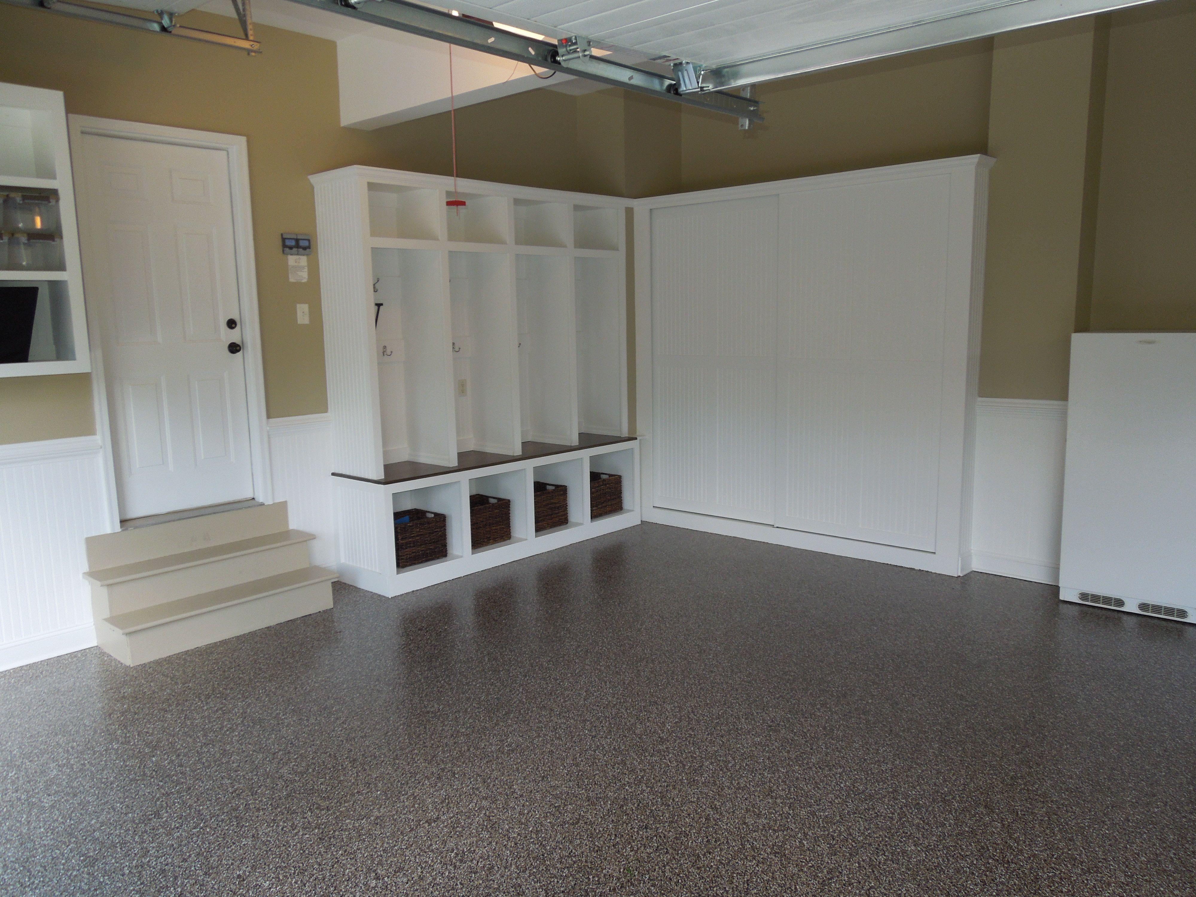 GGF Floor with Custom Built-Ins