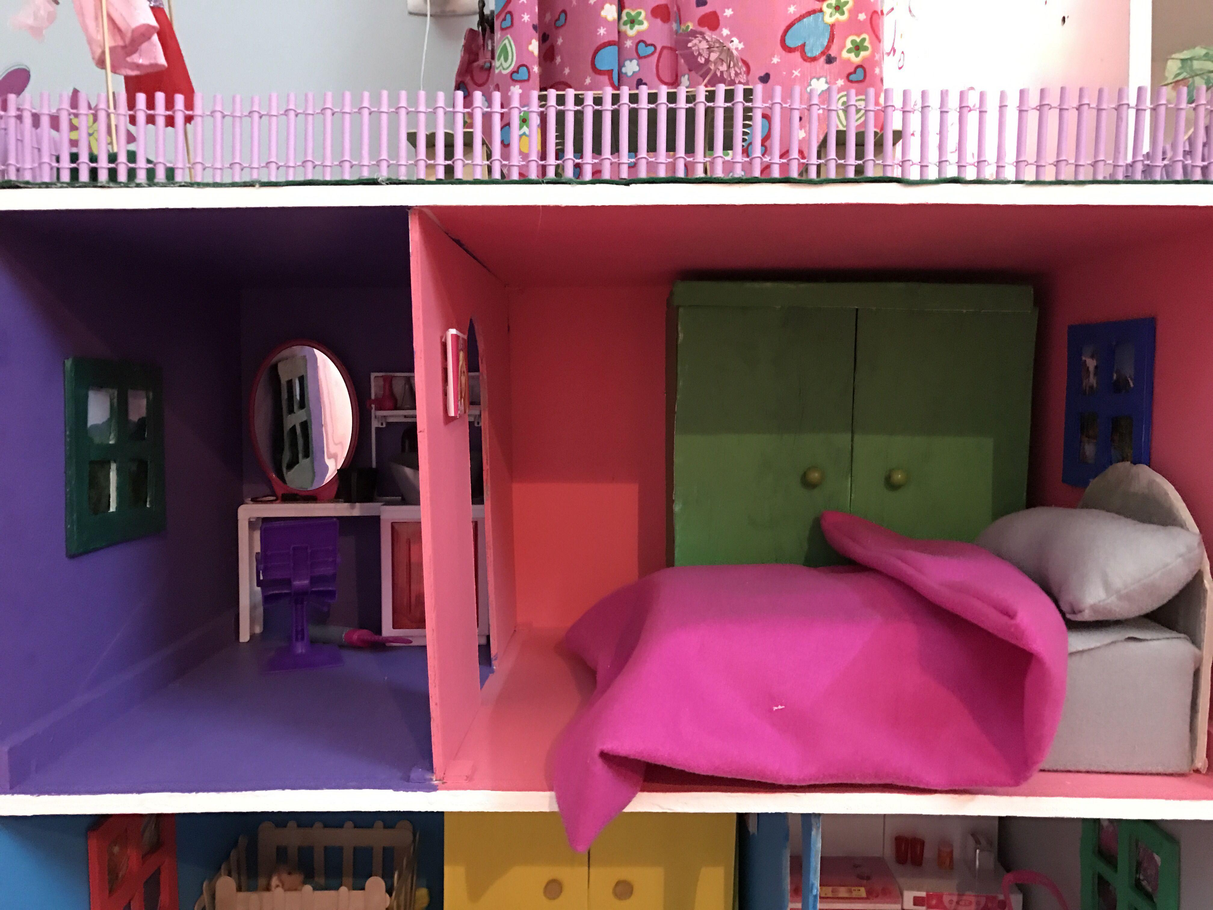 Barbiehouse بيت باربي Home Decor Bunk Beds Bed