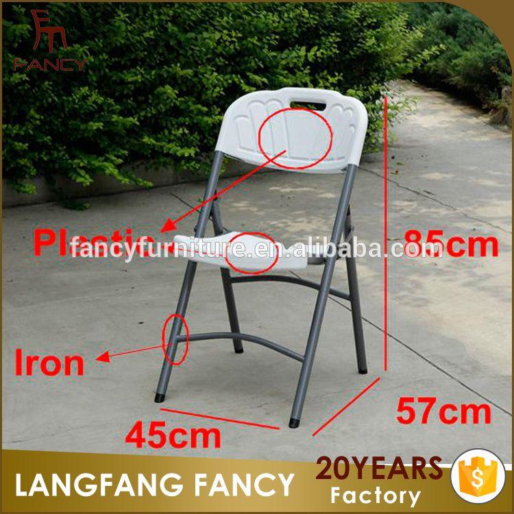 used plastic folding chairs wholesale igloo fishing chair mabinogi cheap with steel frame metal