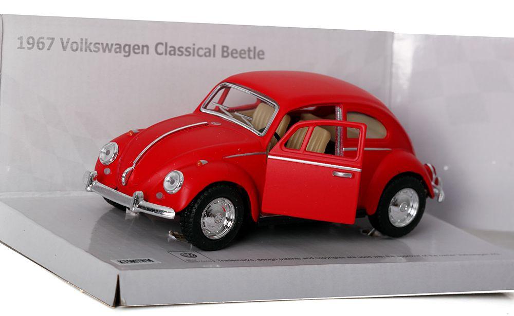 Kultowy metalowy samochód Volkswagen Beetle 1967