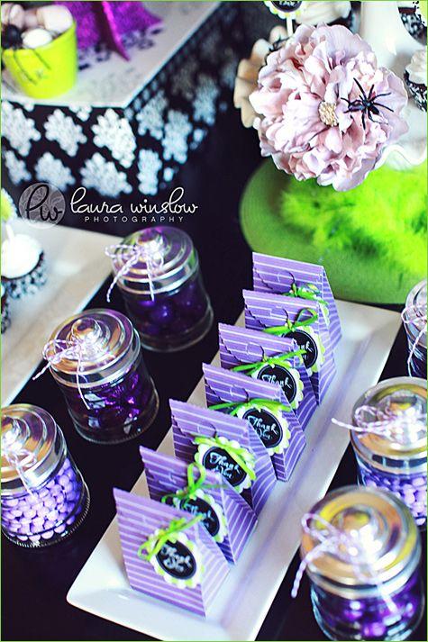 Glam Purple Lime Green