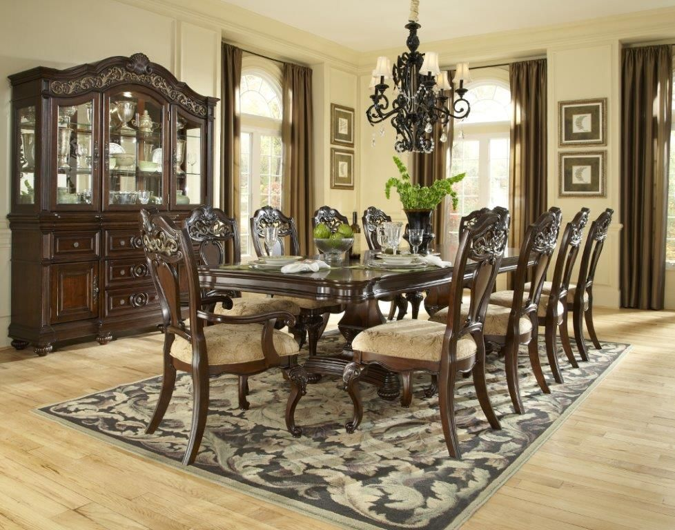 Best 9Pc Traditional Dining Room Set Dining Room Table Set Dining Room Table Antique Dining 400 x 300