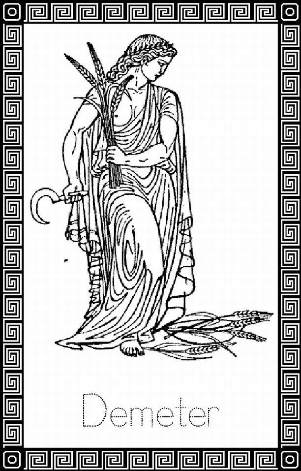 coloring pages of pagans | Pagan / Fantasy kleurplaten… | ~ * Pagan ...