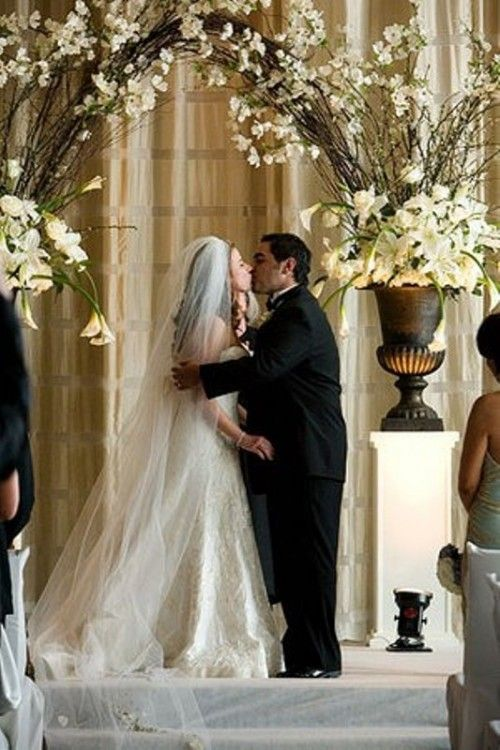 20 Amazing Non Traditional Altars For An Outdoor Wedding Weddingomania
