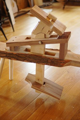 Shaving Horse Plans Woodworking Old School
