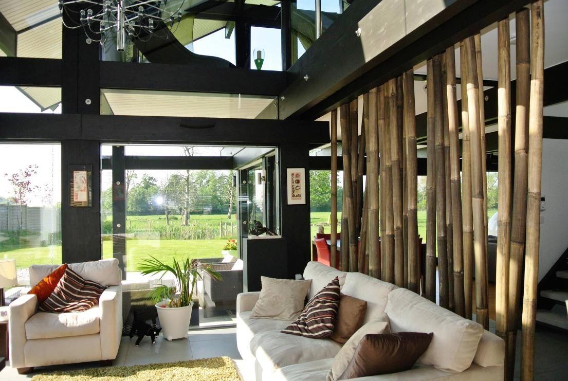 make bamboo room divider | room dividers | pinterest | bamboo room