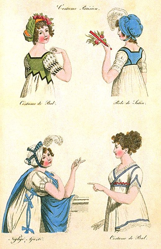 Ball & Afternoon Dresses, May 1800