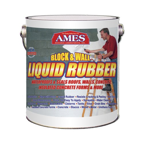 ames block wall liquid rubber coating 1 gallon block on paint for basement walls id=51479