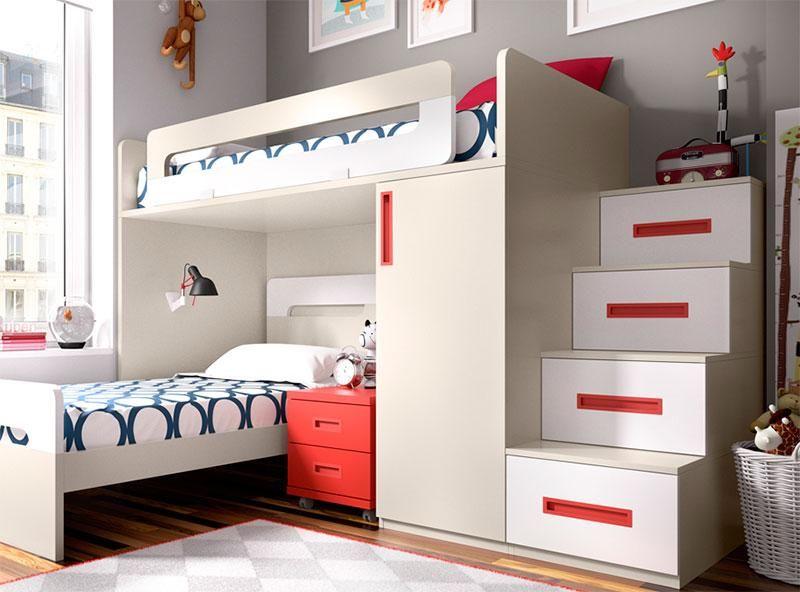 Extra image 2 rec mara ni os pinterest muebles for Habitaciones juveniles baratas online