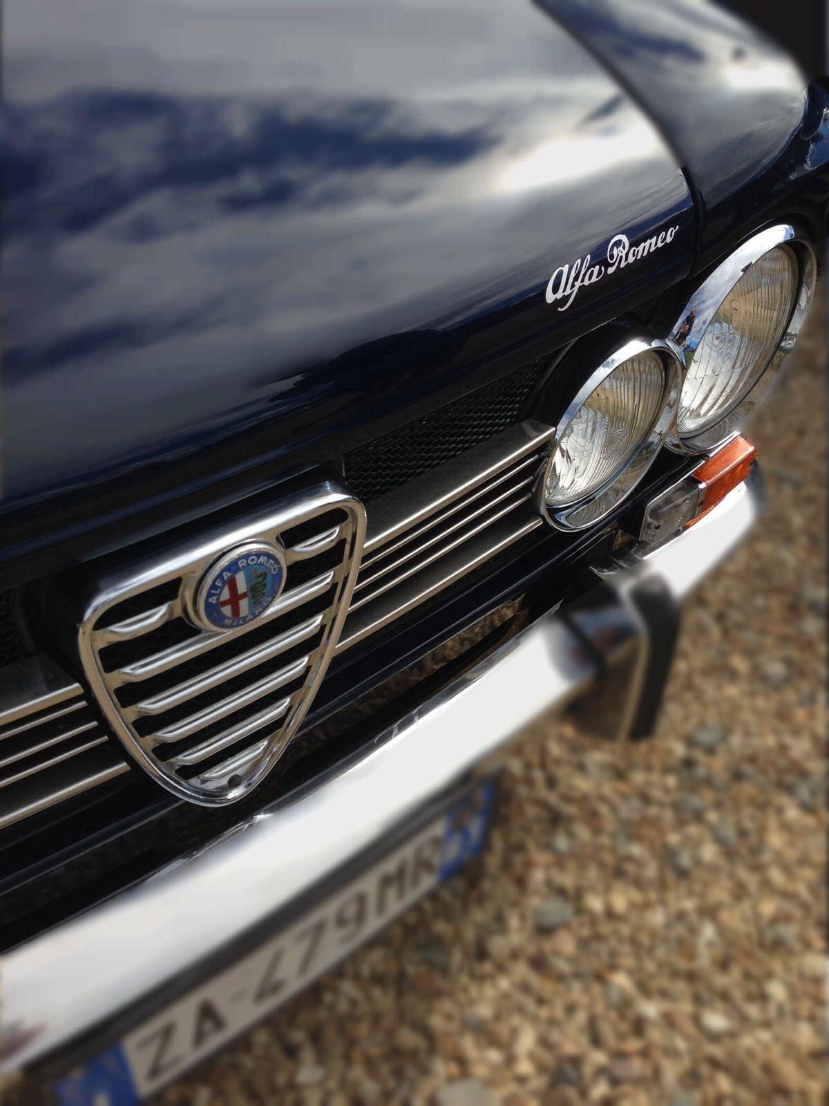 Sharnbrook car show, alpha romeo