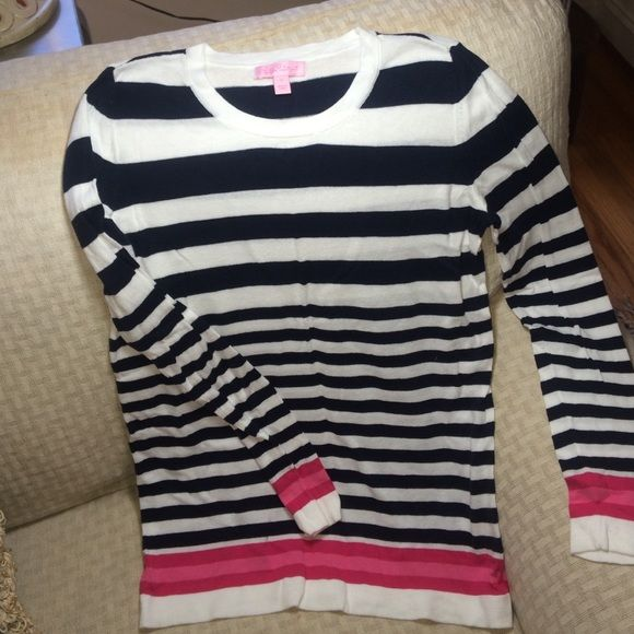 Lilly Pulitzer striped summer sweater Lightweight Lilly Pulitzer ...