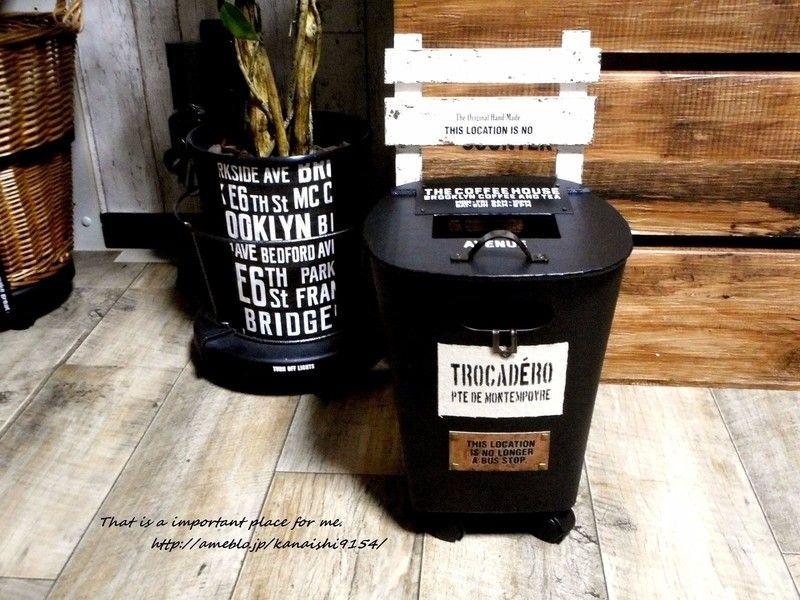 All100均でキャリー風ダストboxをdiy Limia リミア ゴミ箱 Diy アイデア 収納 アイデア