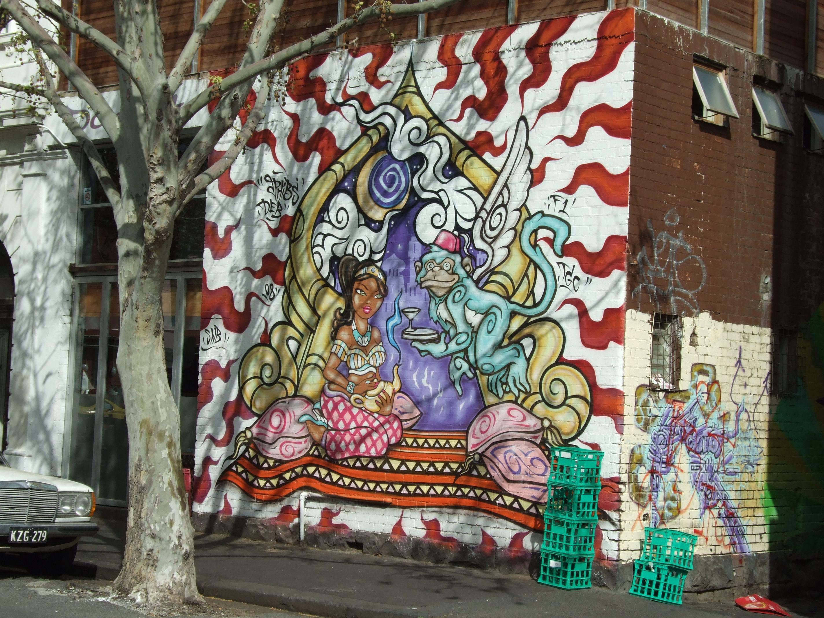 Artistic Graffiti, Melbourne Australia 2009 Taken on Fujifilm Finepix S6500 fd