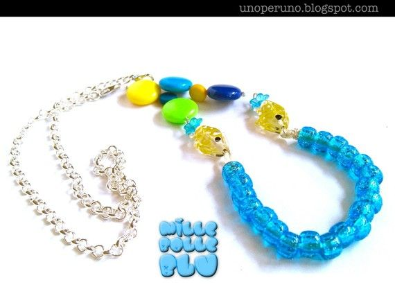 Collana | Necklace MILLE BOLLE BLU