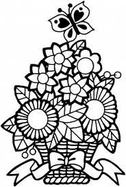 flower colouring pages hard - Google Search | Butterfly ...