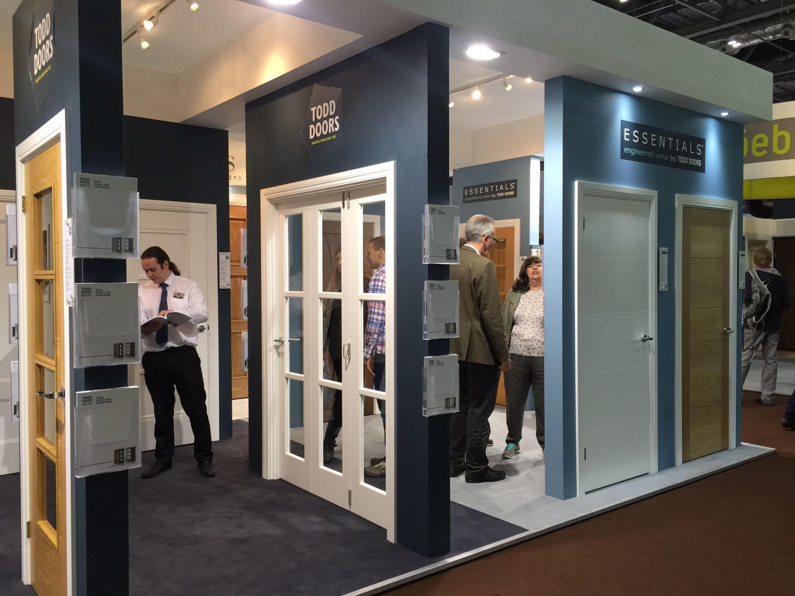 Todd Doors at the Grand Designs Live show in London & Todd Doors at the Grand Designs Live show in London | showroom ...