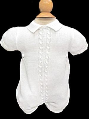 f53552507 Next stop: Pinterest Knitted Romper, Knitting Designs, Simple Dresses, Chef  Jackets,