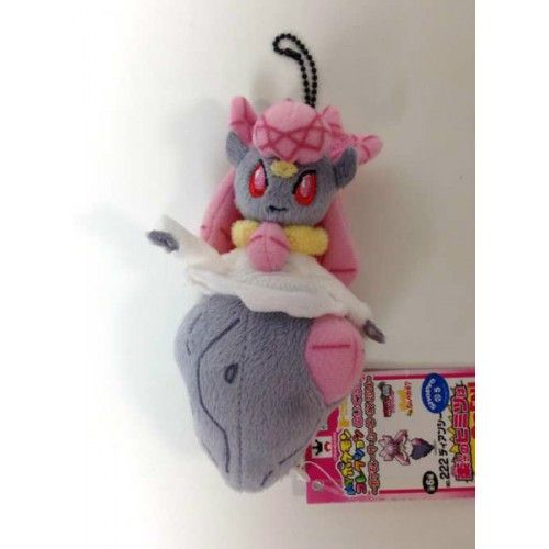 Pokemon 2014 Banpresto UFO Game Catcher Prize My Pokemon Collection Series Diancie Plush Keychain
