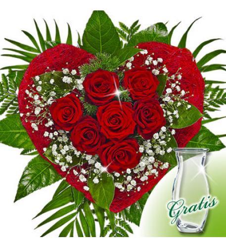 rosenblumenstrauß  blumen geschenk blumen online