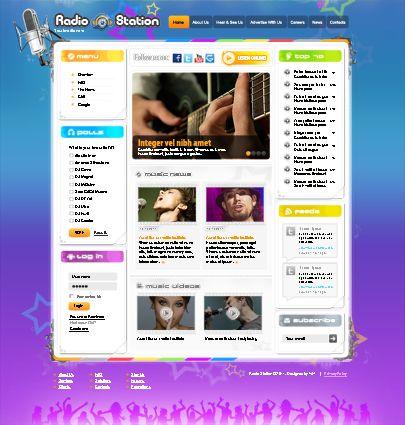 Music Band Joomla website theme free - Tonytemplates blog ...