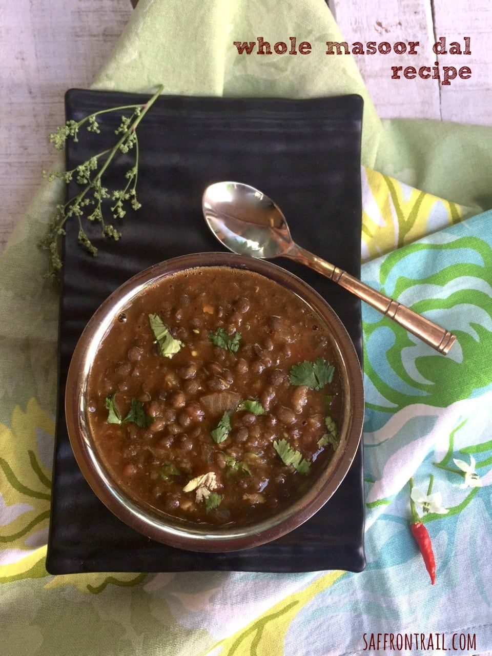 Whole Masoor Dal | Rezept