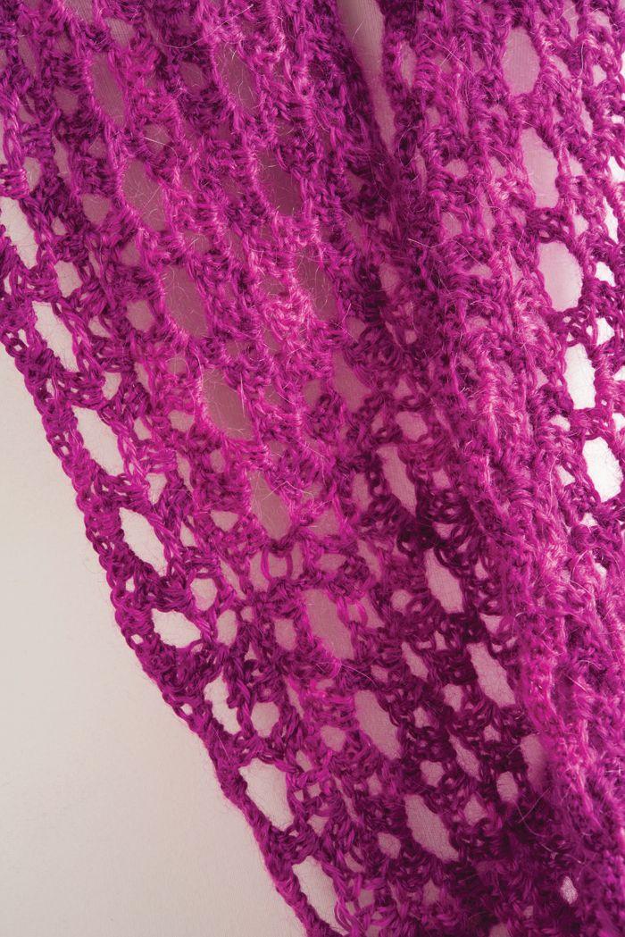 Daydream In Lace Infinity Scarffree Crochet Pattern Crochet