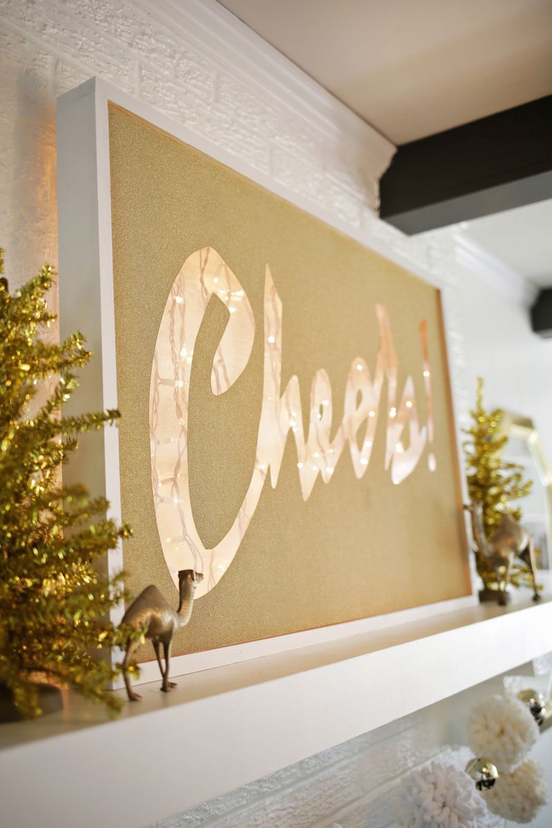 Cheers! Light Box Marquee DIY | Cheer, Tutorials and Box