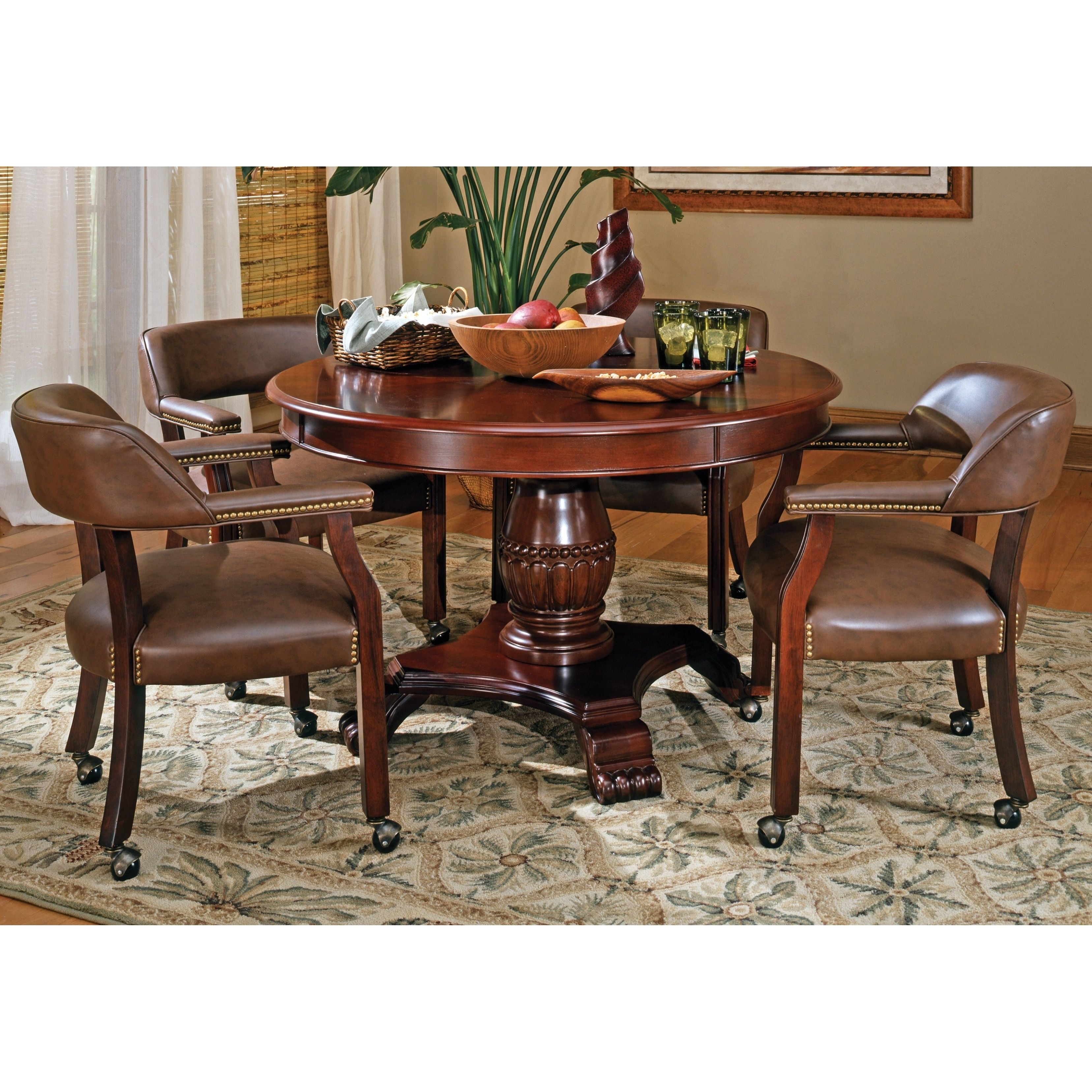 Gracewood Hollow Broker Captains Chair Dining chairs
