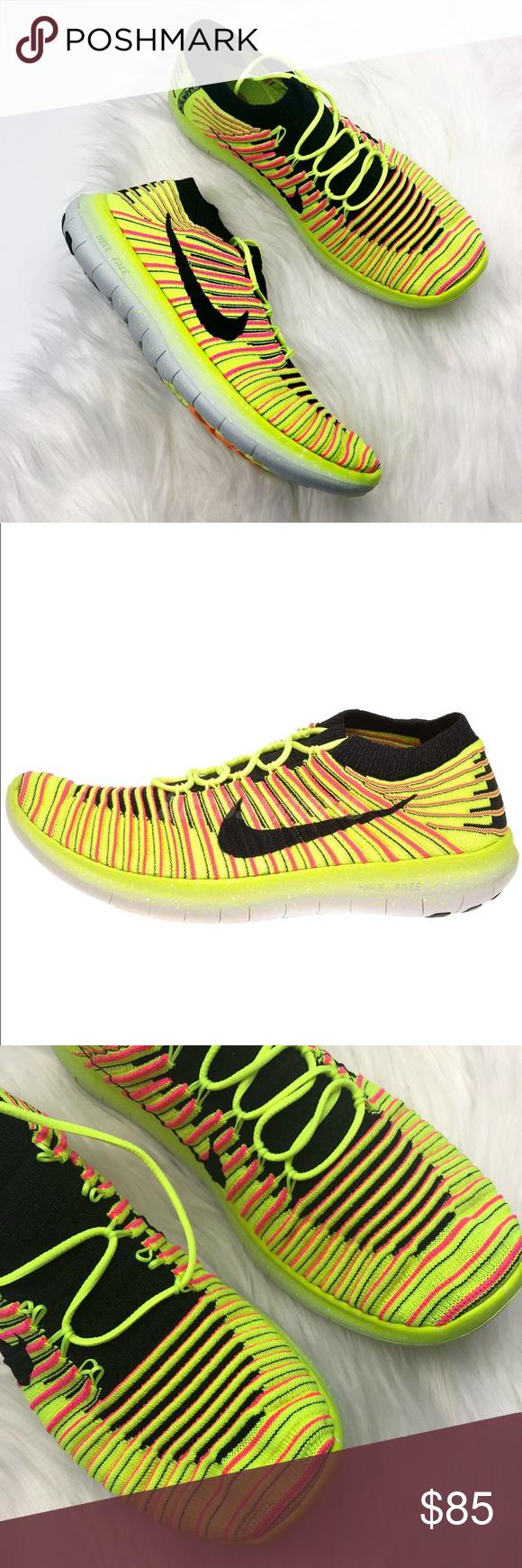 New Nike Free Zapatillas Run Natural Neon Zapatillas Free Nwt Pinterest 080c4c
