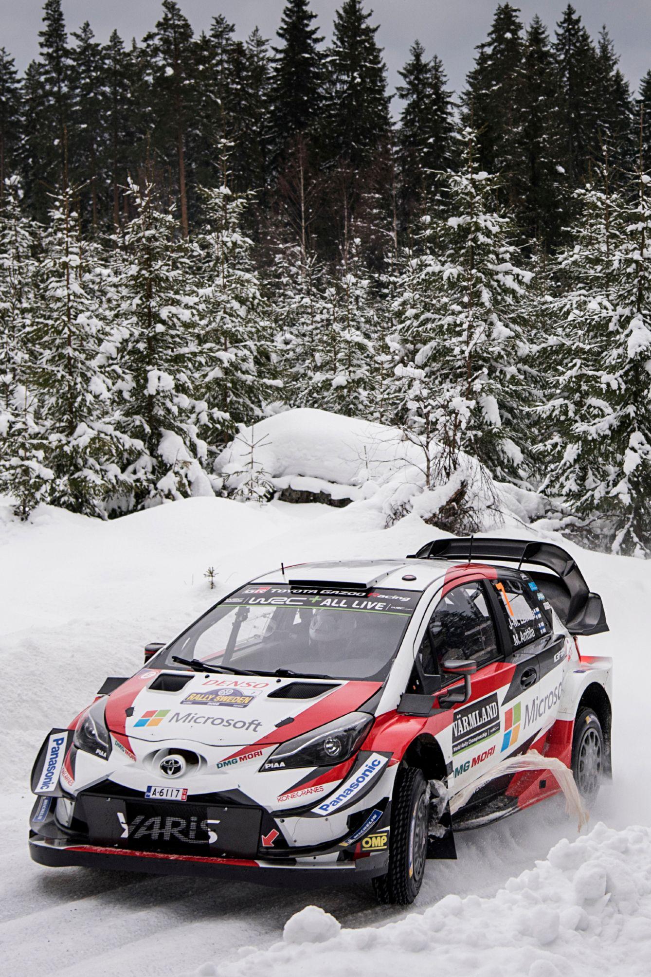 2018 Toyota Yaris Wrc Rally Car Rally Car Racing Rally Drivers