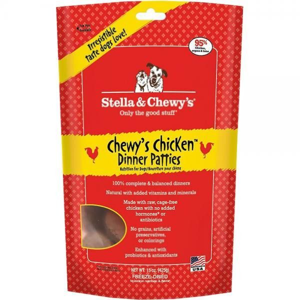 Stella & Chewy's Freeze-Dried Dinner Patties Chewy's Chicken