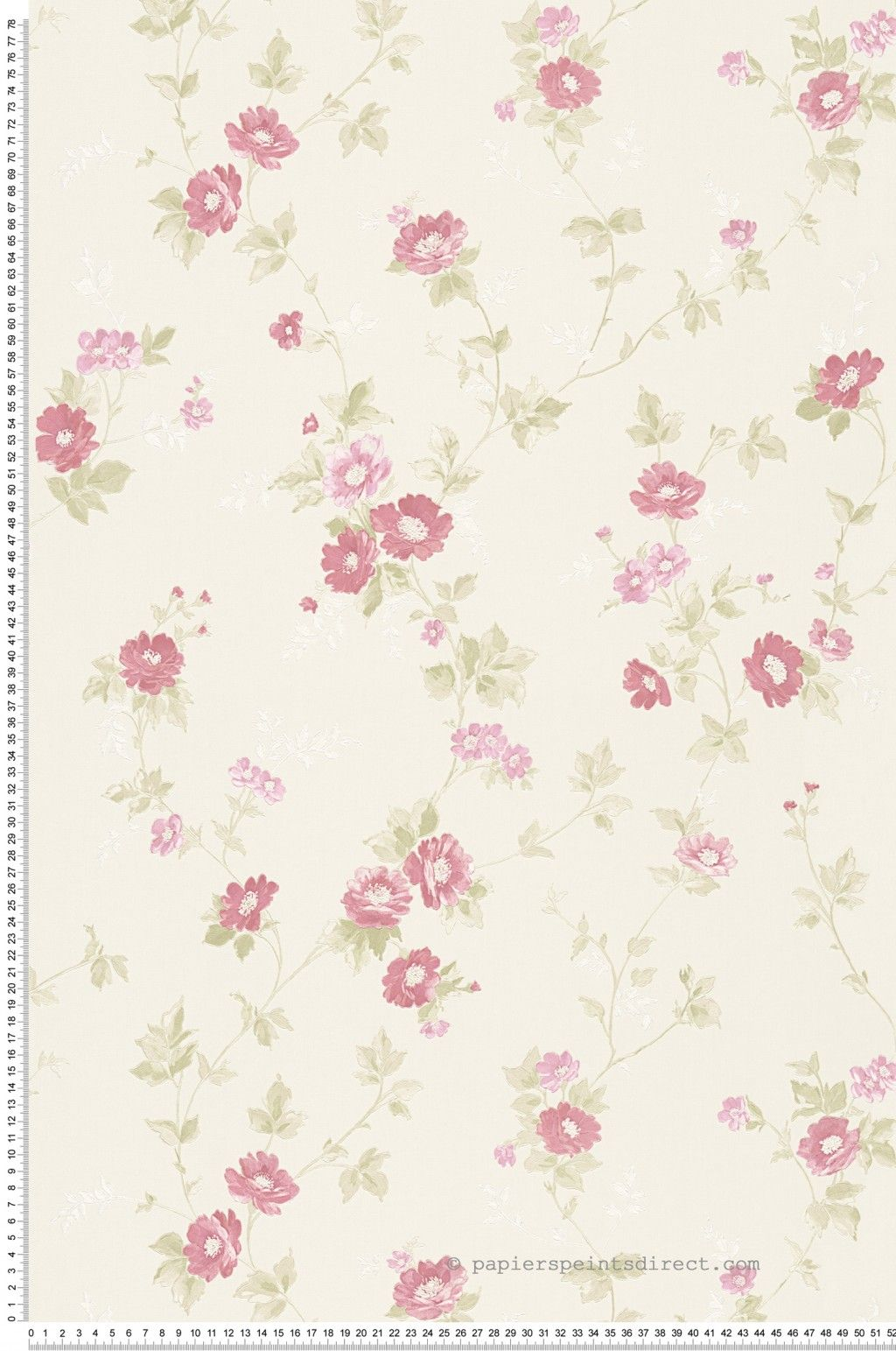 papier peint petites fleurs roses romantica 3 as cr ation r f sp03553 fleurs roses. Black Bedroom Furniture Sets. Home Design Ideas