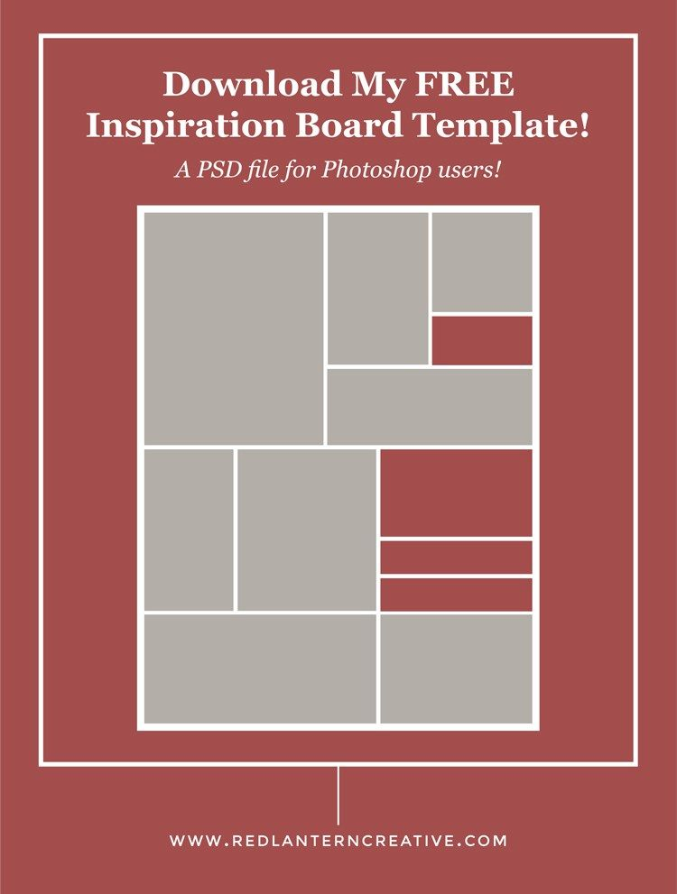 Board Memo Template Creating An Inspiration Board For Your Project