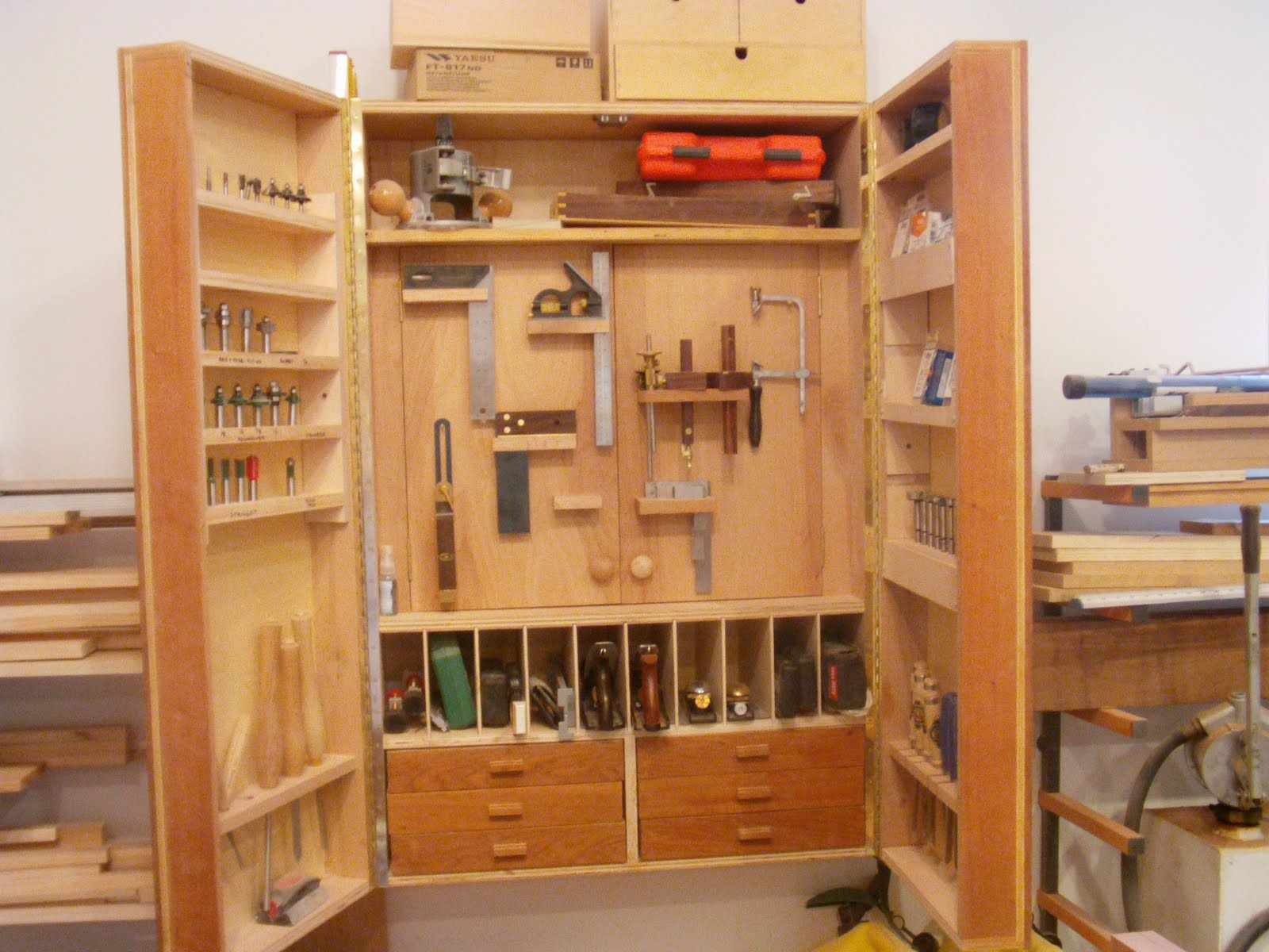 Tool Storage Cabinets Improvements To The Cabinet