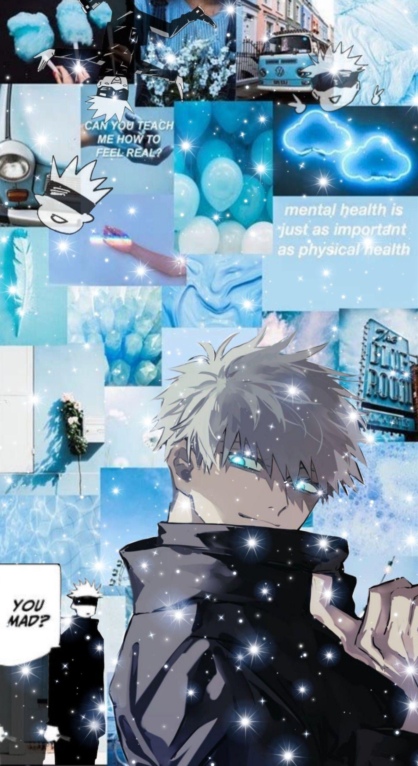 Gojo Satoru Wallpaper In 2021 Wallpaper Anime Art