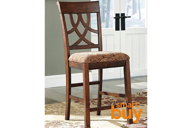 Fantastic Medium Brown Leahlyn Counter Height Barstool View 1 Creativecarmelina Interior Chair Design Creativecarmelinacom