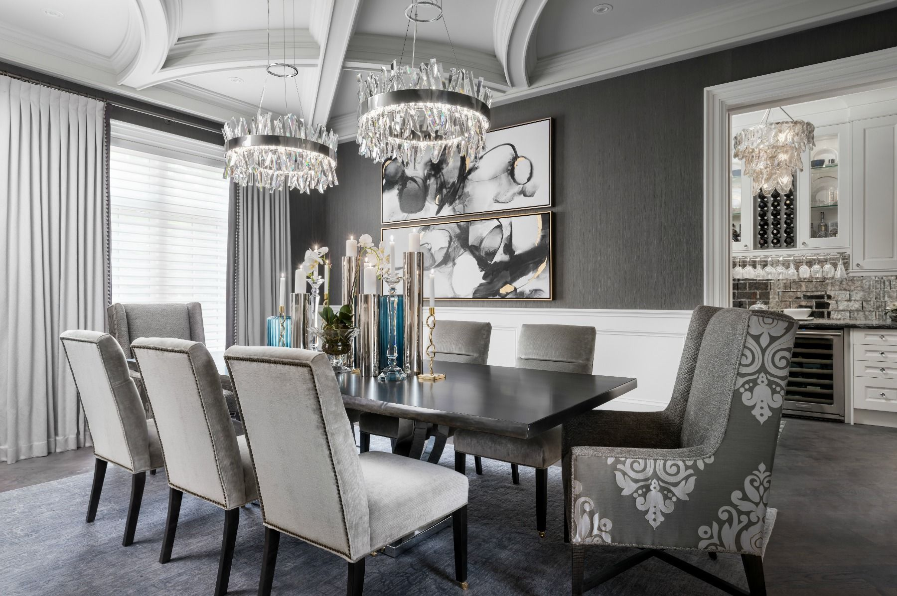 Moving The Mcgillivrays Dining Room Design Beautiful Dining