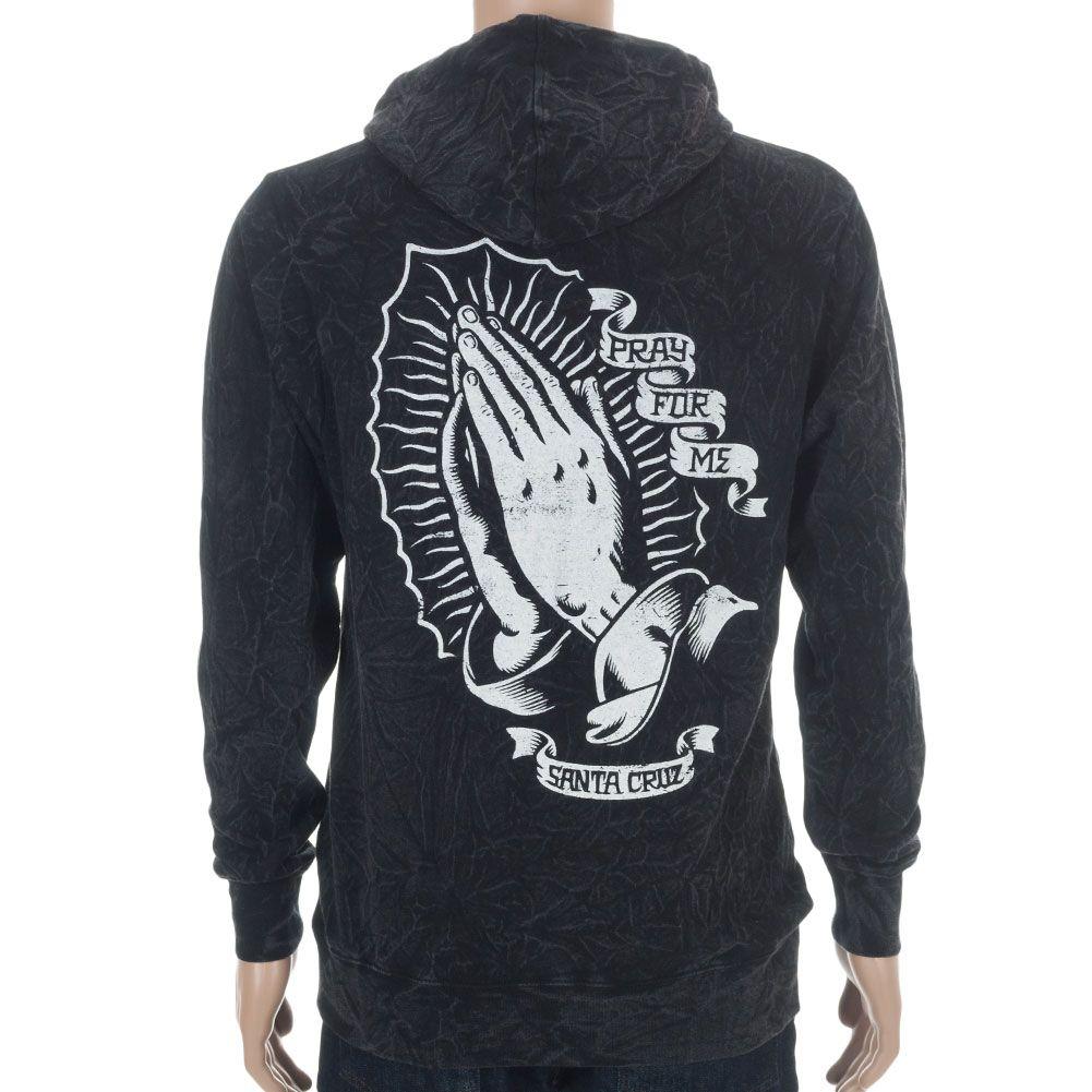 6b86f67225 Santa Cruz Vintage Praying Hands Hood at Skate Pharm