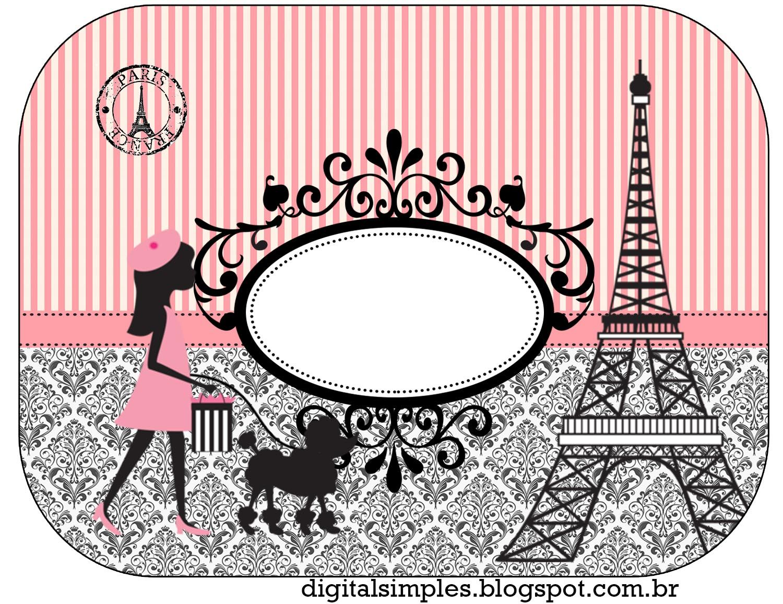 Precioso París: Etiquetas para Candy Buffet para Imprimir Gratis ...