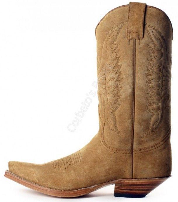 Sendra Boots Stiefel 3241 Schwarz Westernstiefel
