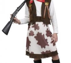 Girls Cowgirl Costume – Child Small