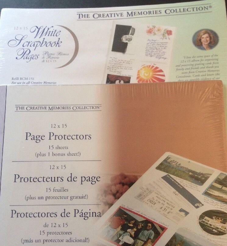 Creative Memories 12x15 Page Protectors
