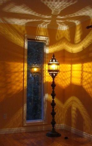 Turkish Lanterns made into Tall Standing Lanterns on request ...