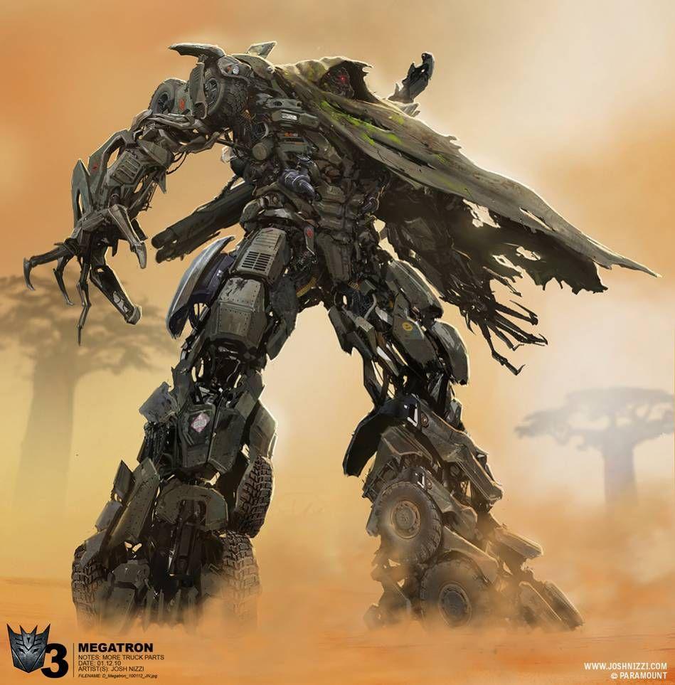 transformers dotm megatron comics and drawings