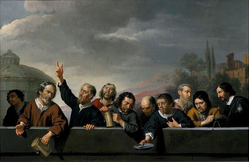 Jan van Bijlert Portraits of the Inhabitants at St