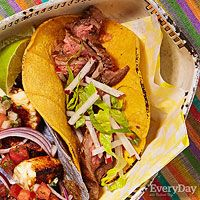 Every Day with Rachael Ray (May 2015): Grilled Steak Tacos