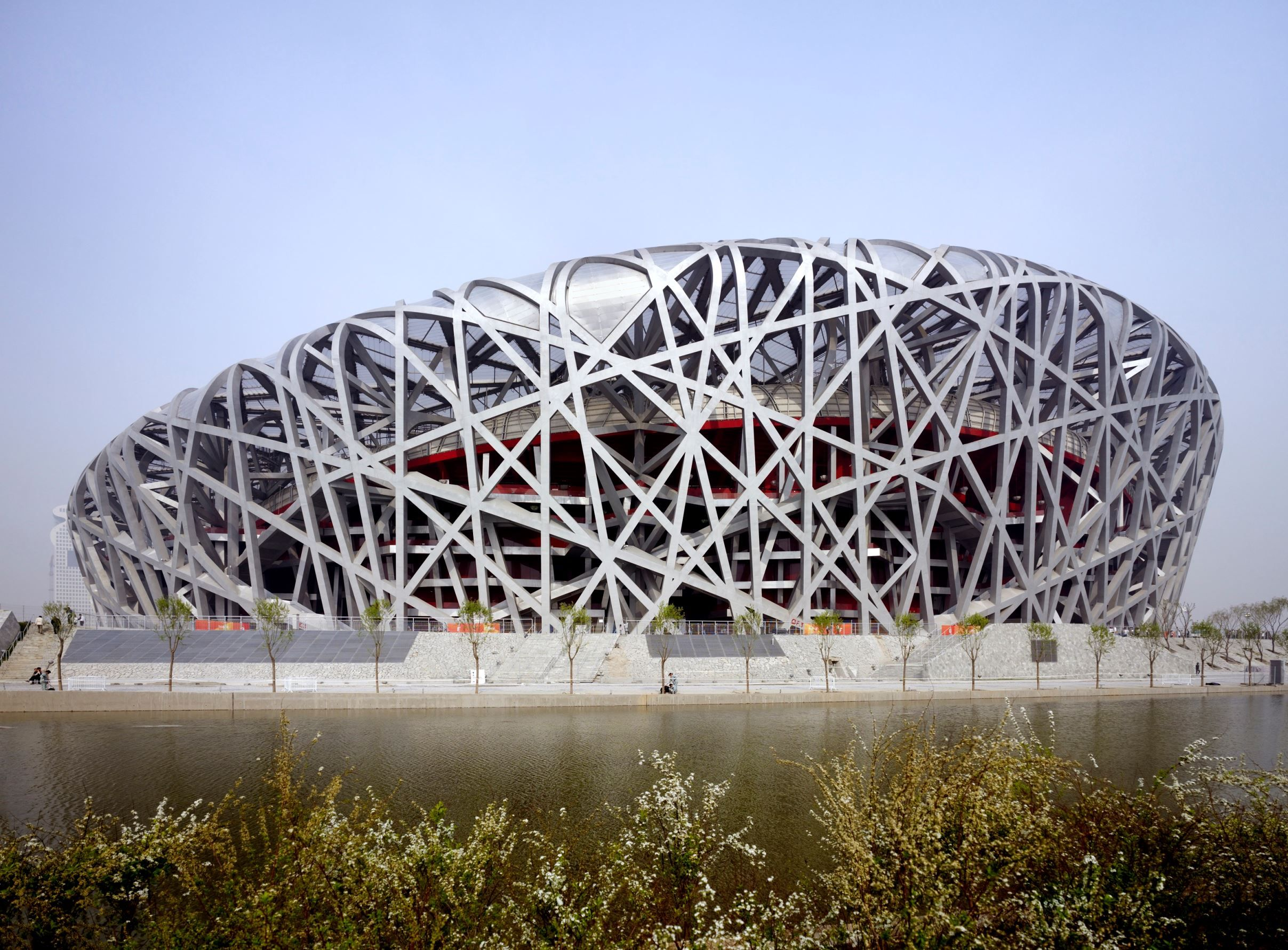 Beijing national stadium china also known as the bird s for The bird s nest stadium